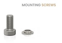 Mounting Screws & Diameter Decreaser